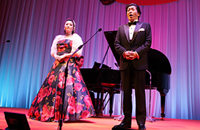 Tenor Debut at the Imperial Hotel Osaka